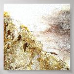 Cliffs of the ocean poster