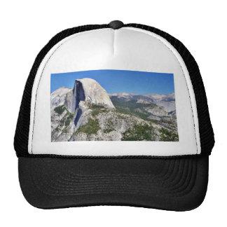 Cliffs Yosemite Halfdome Sierras Mesh Hat