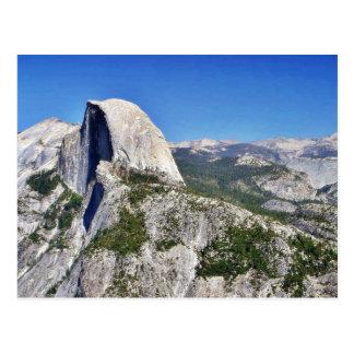Cliffs Yosemite Halfdome Sierras Postcard