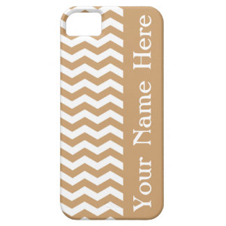 Clifton Beach Sand Wave Chevron with name iPhone SE/5/5s Case