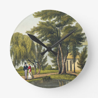 Clifton, from 'The Naturama, or, Nature's Endless Round Wall Clock