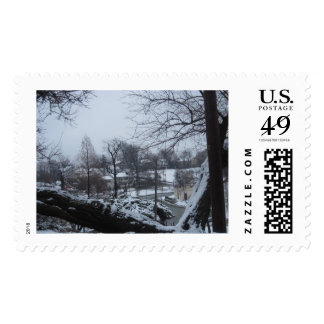 Clifton Heights St Louis, MO Snow Park Stamp
