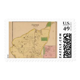 Clifton, Ohio Postage