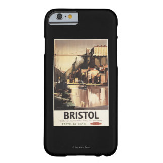 Clifton Suspension Bridge and Boats Barely There iPhone 6 Case