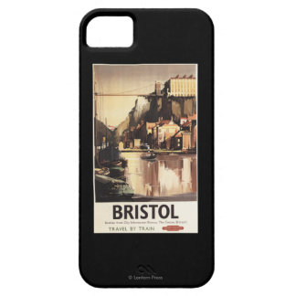 Clifton Suspension Bridge and Boats iPhone SE/5/5s Case