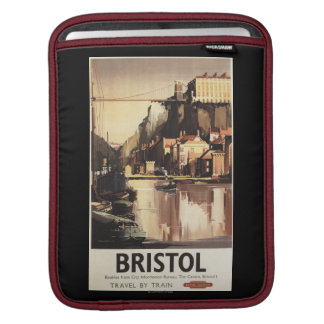 Clifton Suspension Bridge and Boats Sleeve For iPads