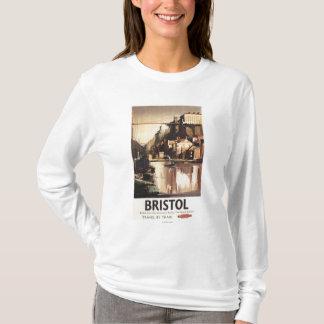 Clifton Suspension Bridge and Boats T-Shirt