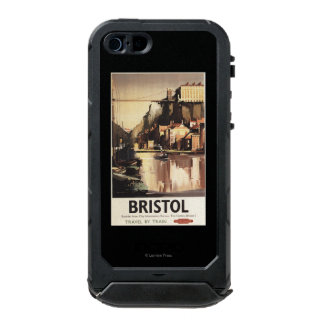 Clifton Suspension Bridge and Boats Waterproof iPhone SE/5/5s Case