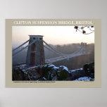 Clifton Suspension Bridge, Bristol Posters