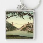 Clifton Suspension Bridge I, Bristol, England Key Chains