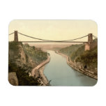 Clifton Suspension Bridge II, Bristol, England Vinyl Magnets