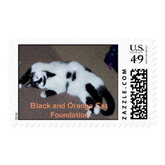 Clifton wants a belly rub. postage stamps