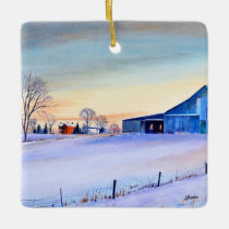 Clifty Creek Farm Ceramic Ornament