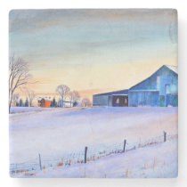 Clifty Creek Farm Stone Coaster