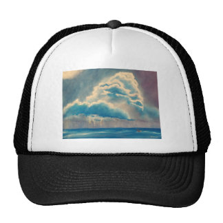 Clima tempestuoso gorras de camionero