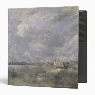 "Clima tempestuoso, Pas de Calais, c.1870 Carpeta 1 1/2"""