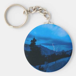 Clima tempestuoso Yosemite del cielo Llaveros