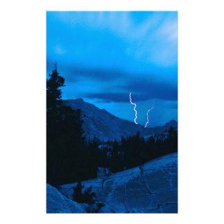 Clima tempestuoso Yosemite del cielo Papeleria