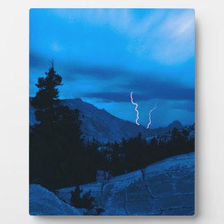 Clima tempestuoso Yosemite del cielo Placas Con Foto