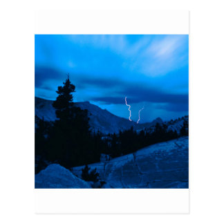 Clima tempestuoso Yosemite del cielo Postal