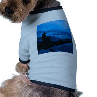 Clima tempestuoso Yosemite del cielo Camisa De Perro