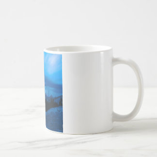 Clima tempestuoso Yosemite del cielo Tazas De Café