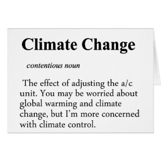 Climate Change Definition Cards