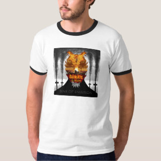 Climate Change Denial Demon On Light Tee