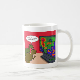 Climate Change Dinosaurs Coffee Mug