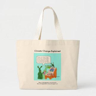 Climate Change Explained Jumbo Tote Bag