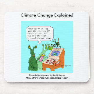 Climate Change Explained Mouse Pad