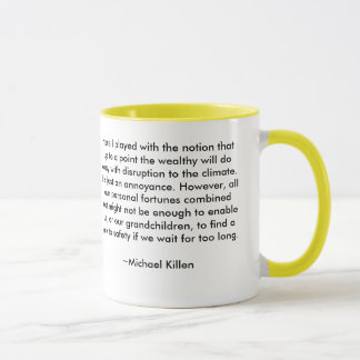 Climate Change for the Wealthy Mug