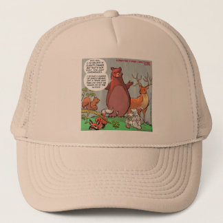 Climate Change From A Bear's Perspective Trucker Hat