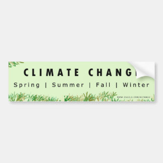 Climate Change Hoax Bumper Stickers