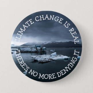 Climate Change is Real Button