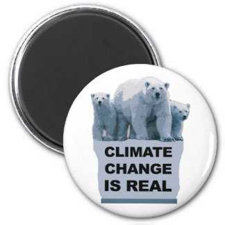 CLIMATE CHANGE IS REAL MAGNET