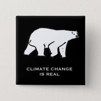 Climate Change is Real Pinback Button