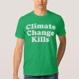 Climate Change Kills Basic American Apparel T-Shirt