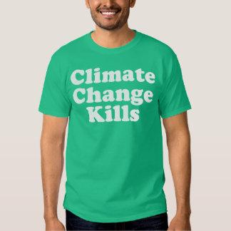 Climate Change Kills Basic Dark T-shirt