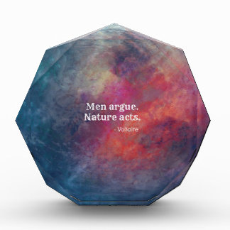 "Climate Change: ""Men Argue - Nature Acts"" Design Award"