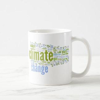 climate change one coffee mug
