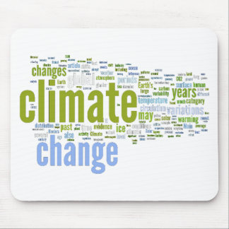 climate change one mouse pad