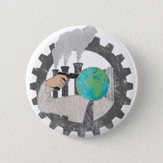 Climate CHANGE Pinback Button