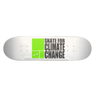 Climate Change Skateboard Deck