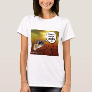 Climate change sucks! T-Shirt
