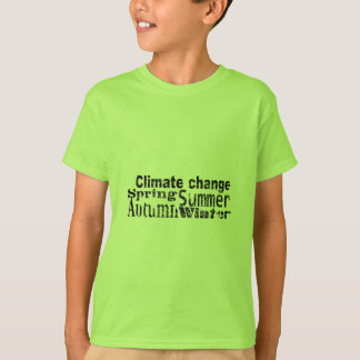 Climate Change T-Shirt
