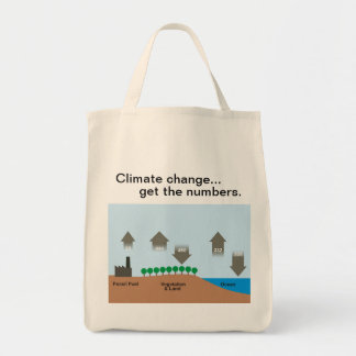 Climate change - The carbon cycle Tote Bag