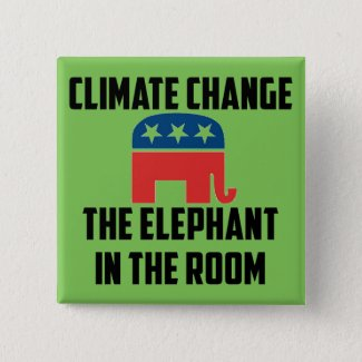 Climate Change: The Elephant in the Room Button