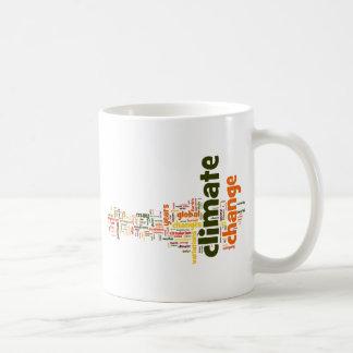 climate change two coffee mug