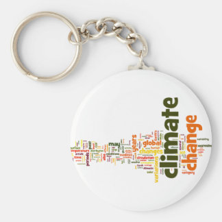 climate change two keychain